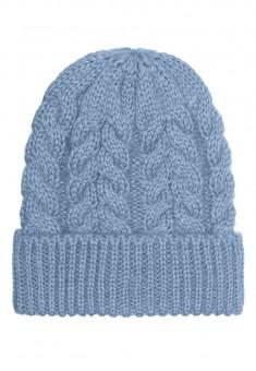 шапка блакитна