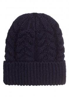 шапка синя