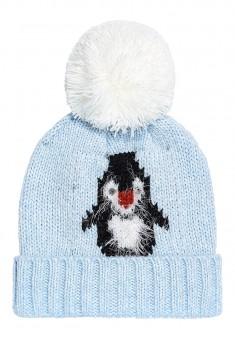 Girlss Hat light blue