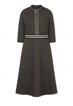 Платье цвет серый