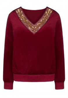 Sweatshirt burgundy