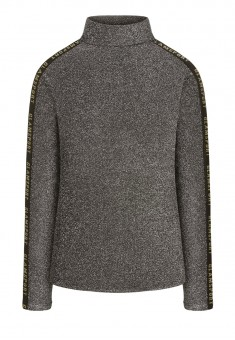 Lurex Turtleneck silver