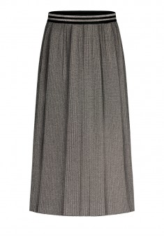 Pleated Skirt silver