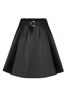 Belted Skirt black