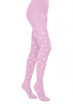 Kids Polka Dot Tights SD156 100 den lavender