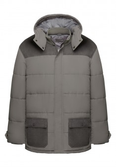 Mens Insulated Coat grey