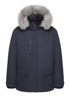 Mens Insulated Coat dark blue