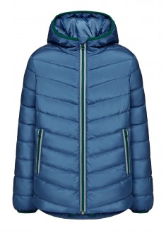 Boys Insulated Quilted Coat bright blue