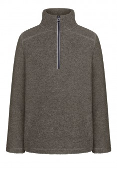 Boys Polar Fleece Sweatshirt grey melange