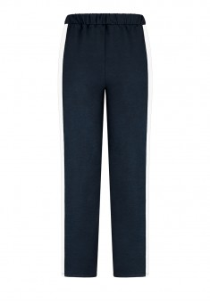 Side Stripe Trousers blue