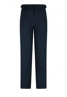 Bikses zilā krāsā ar sānos izvietotām nošuvēm
