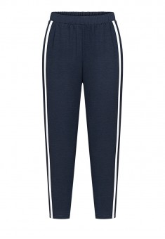 Cropped Trousers blue