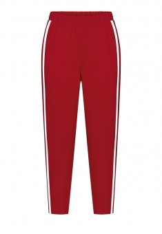 Cropped Trousers red