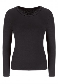 Long Sleeve Thermal Top black