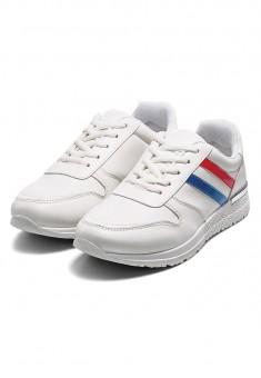 Кроссовки Control белые