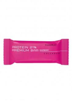 Протеиновый батончик Protein Premium Bar со вкусом малины