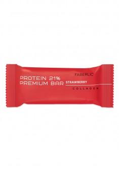 Протеиновый батончик Protein Premium Bar со вкусом клубники