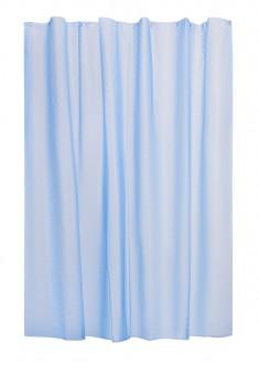 Шторка для ванни синя