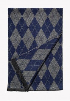 Mens Scarf dark grey