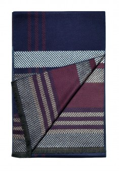 Mens Scarf dark blue