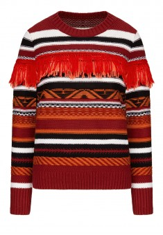 Jacquard Knit Jumper multicolor