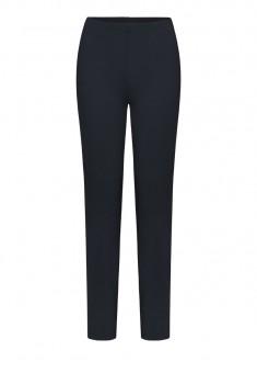 Утепленные обтягивающие брюки цвет темносиний