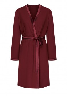 Dressing Gown burgundy