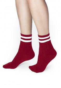 Носки женские SO115 цвет красный
