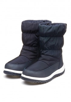 Sofia Padded Boots dark blue