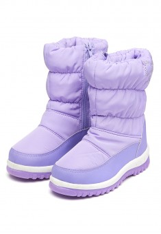 Sofia Padded Boots lilac