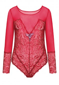 Ivette Bodysuit red