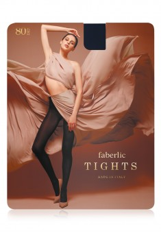 Microfiber Tights 80 den blue