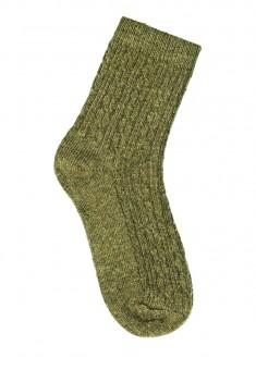Носки из шерсти SO121 цвет оливковый