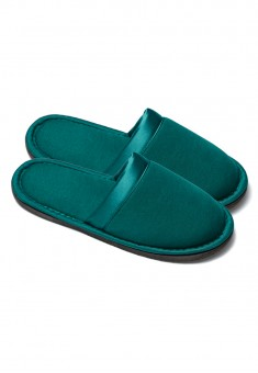 Womens Slippers emerald