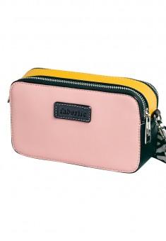 Mini torebka kolor różowy