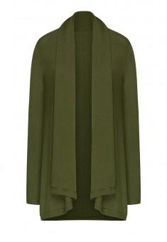 Knit Cardigan dark green