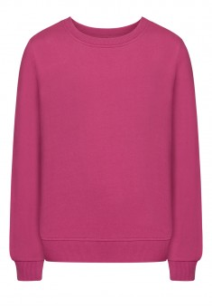 Girls Long Sleeve Jersey Jumper dark lilac