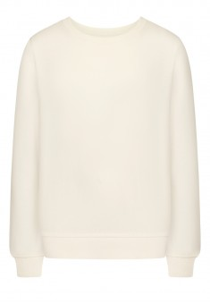 Girls Long Sleeve Jersey Jumper white