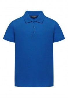 Light Jersey Polo Neck Jumper for boys blue