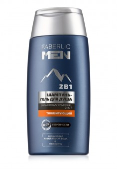 Toning Shampoo and Shower Gel 2in1