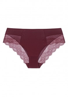 Mariella High Waist Slip Briefs burgundy