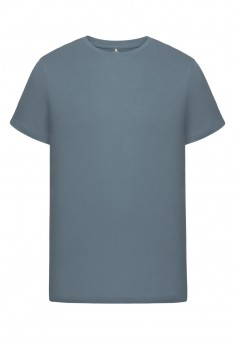Mens Short Sleeve Tshirt grey blue