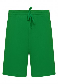 Dzianinowe szorty męskie kolor zielony