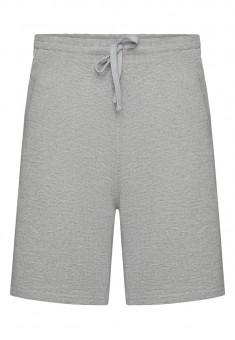 Трикотажні шорти для чоловіків колір світлосірий меланж