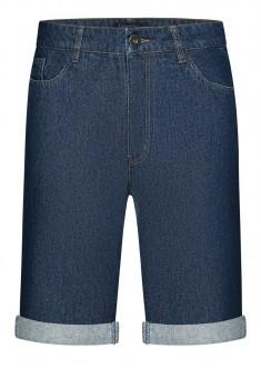 Krótkie spodenki dżinsowe męskie kolor niebieski