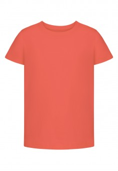 Girls Short Sleeve Tshirt coral