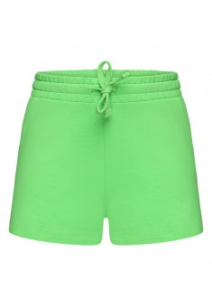 Girls Jersey Shorts green