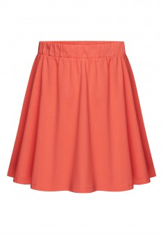 Girls Jersey Skirt coral