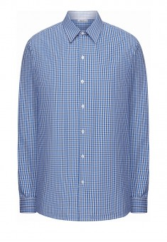 Mens Long Sleeve Shirt blue