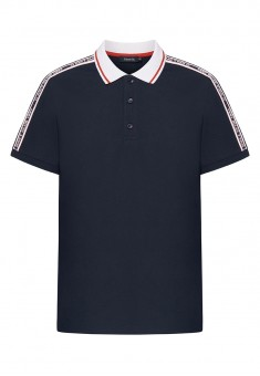 Mens Polo Shirt dark blue
